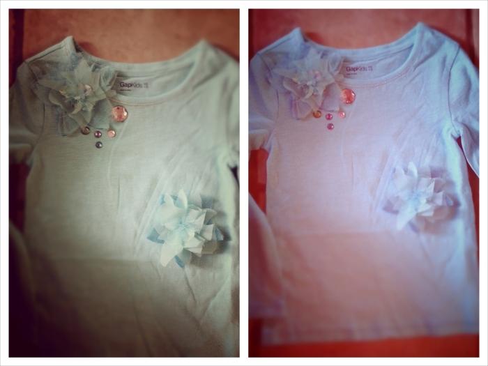 Finished t-shirts